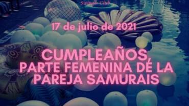 CUMPLE de SAMURAIS